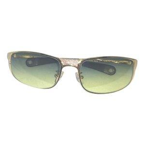 Marni Goldtone Metal Frame Sunglasses